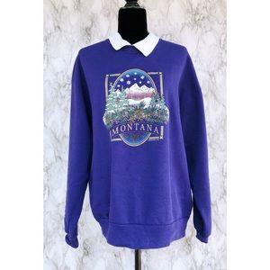 Vintage// Montana Travel Sweatshirt